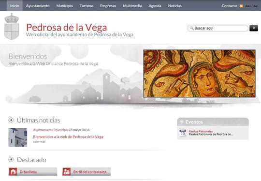 Bienvenidos a la web de Pedrosa de la Vega